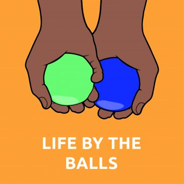 It's not only ok, it's essential to talk about balls.