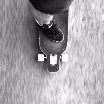 It's as easy as falling off a skateboard…